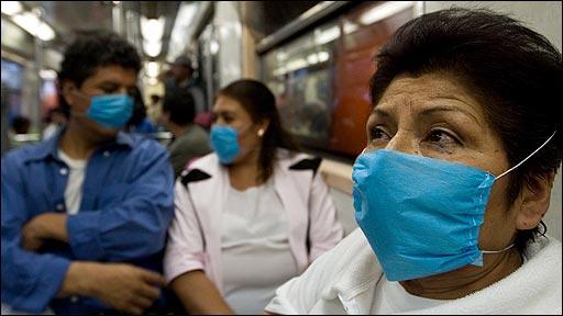 México paralizada por el temor a la pandemia de la gripe porcina