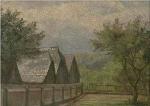 paisaje, pintura de hitler