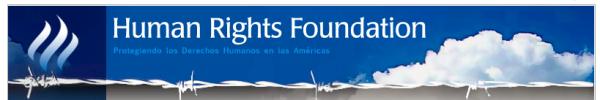 Human Rights Foundation, severamente cuestionada por ser una fachada de las políticas intervencionistas de USA  a través de la CIA