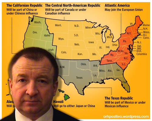 Igor Panarin, el científico ruso predice el colapso de Estados Unidos para Noviembre del 2009