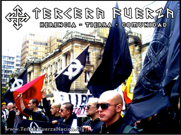 marchas neo-nazis en colombia