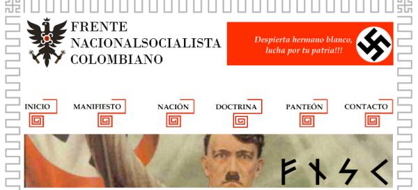 Frente Nacionalsocialista colombiano, de extrema derecha