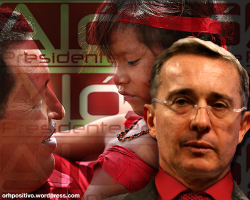 Alvaro Uribe se socializa copiando Aló presidente en television de Hugo Chávez