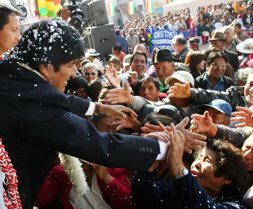 El documental sobre la revolución boliviana hecho por Anne Delstanche
