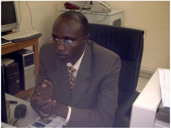 Haroune Djouma, el responsable de difundir supuestos pagos a mercenarios de Chad por el régimen de Gadaffi