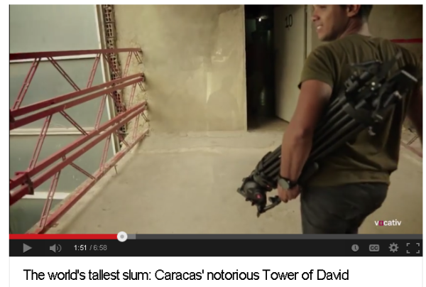 The world s tallest slum  Caracas  notorious Tower of David   YouTube2