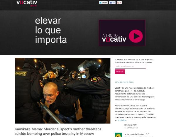vocativ. una empresa de comunicación contra Venezuela