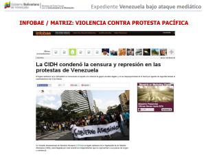 venezuela bajo guerra mediatica