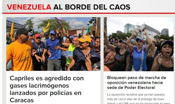 Caracol radio contra Venezuela orhpositivo orlando romero harrington